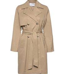 slfweka trenchcoat trench coat rock beige selected femme