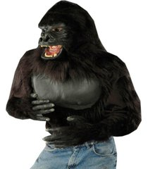 buy seasons men's gorilla shirt costume