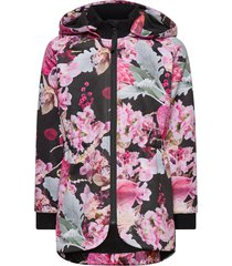 hillary outerwear softshells softshell jackets multi/patroon molo