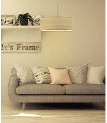 fornirowa lampa wisząca sintra eco fi - 60 cm