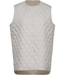 sealiner vest vests padded vests grijs fall winter spring summer