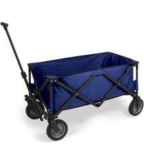 oniva by picnic time blue adventure wagon portable utility wagon