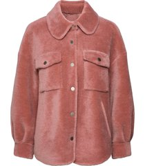 lumber jacket outerwear faux fur rosa ravn