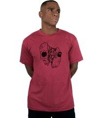 camiseta ventura gus vinho - kanui