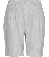 jillian bermuda pant bermudashorts shorts grå kaffe