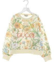 gucci flora sweatshirt