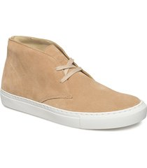 liam s desert boots snörskor creme shoe the bear