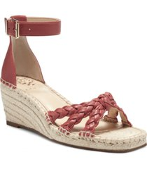 vince camuto women's jadeya braided wedge sandals women's shoes