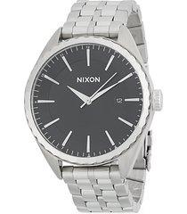 minx stainless steel bracelet watch