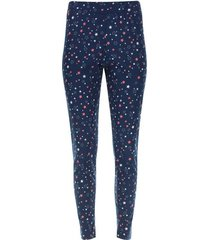pantalon descanso estrellas color azul, talla s