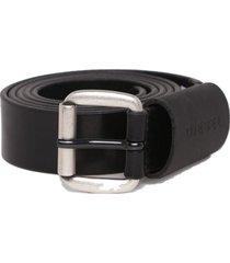 cinturon b astar belt negro diesel