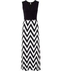 abito lungo con viscosa sostenibile (nero) - bodyflirt boutique