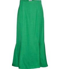 bellflower knälång kjol grön tiger of sweden