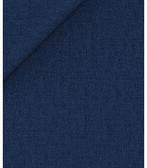 pantaloni da uomo su misura, lanificio zignone, blu ghiaccio grisaglia, quattro stagioni | lanieri
