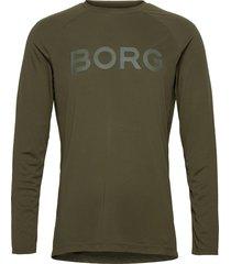ls tee ante ante t-shirts long-sleeved grön björn borg