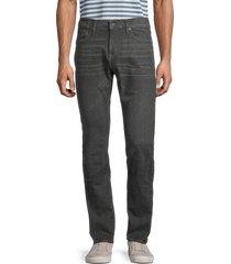 john varvatos star u.s.a. men's bowery slim-fit straight jeans - kalamata - size 38