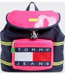 mochila heritage multicolor tommy jeans