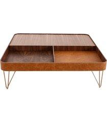 mesa de centro copenhagen 1,40m x 1,40m