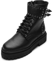 bota coturno zatz chunky preta - preto - feminino - dafiti