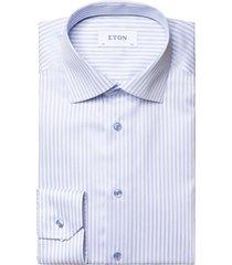 eton overhemd contemporary fit gestreept