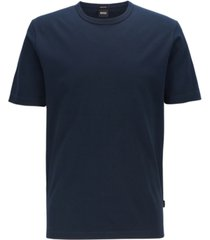 boss men's tiburt 137 crew-neck cotton pique t-shirt