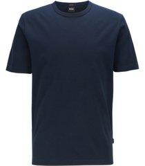 boss men's tiburt 137 crew-neck cotton pique t-shirt