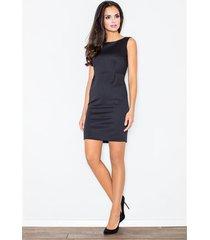sukienka brendy m079 czarna