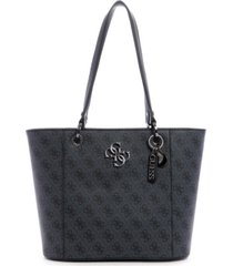 guess noelle small logo elite tote