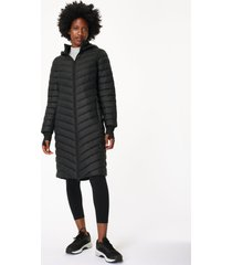traverse long puffer jacket