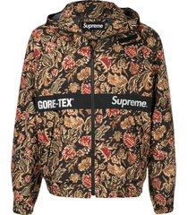 supreme gore-tex court jacket - multicolour