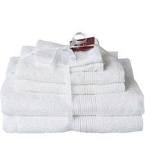 talesma braid dobby 6-pc. turkish cotton towel set bedding
