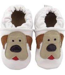 pantufa catz calçados infantil couro nicky cachorro - unissex