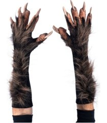 buyseasons adult wolf gloves