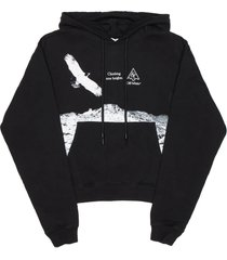 off-white eagle landscape hoodie
