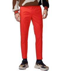 boss men's kaito1 medium red pants