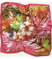pañuelo coral nuevas historias pintura de flores ba1275-43