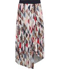 piza knälång kjol multi/mönstrad by malene birger