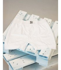 boxer blanco rever pass seamless liso