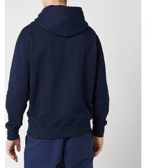 polo ralph lauren men's fleece hoodie - cruise navy - xxl