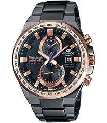 reloj casio efr_542rbm_1a gris acero inoxidable