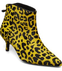 abira leo shoes boots ankle boots ankle boot - heel gul custommade