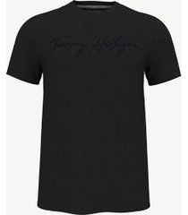 tommy hilfiger essential signature t-shirt jet black - xxxl