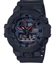 reloj g shock ga-700bmc-1adr negro resina