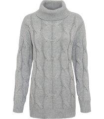 maglione a trecce (grigio) - bodyflirt