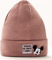 berretto con mickey mouse (rosa) - disney
