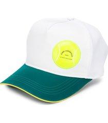 karl lagerfeld rue st guillaume tennis cap - white