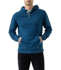 men's rodd & gunn kingsley park regular fit hoodie, size xx-large - blue