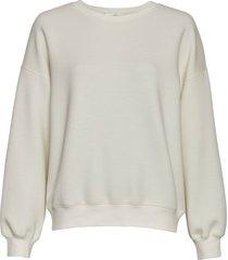 moss copenhagen sweatshirt 15483 ima ecru