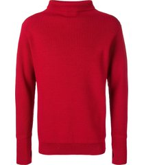 andersen-andersen ribbed sweater - red
