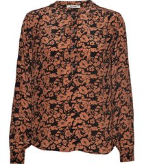 betty shirt blouse lange mouwen oranje nué notes